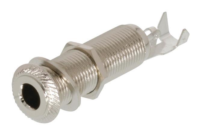 Neutrik NTR-NYS2203 - Mono Konektor 6.35 mm zásuvka Kov Stříbrná