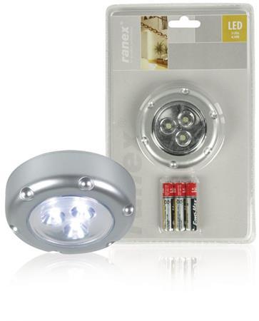 Ranex RA-6000072 - LED Dotyková Lampa 3 Stříbrná