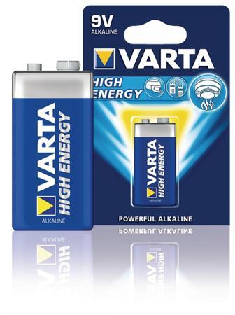 Varta VARTA-4922/1 - Alkalická Baterie 9 V High Energy 1-Blistr