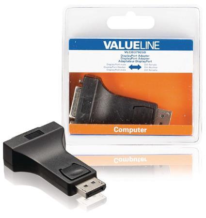 Valueline VLCB37925B - adaptér DisplayPort zástrčka - DVI-I 24+5p zásuvka, černá