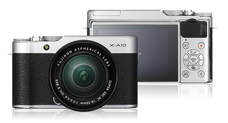 Fujifilm X-A10 + XC16-50 - Silver/Black