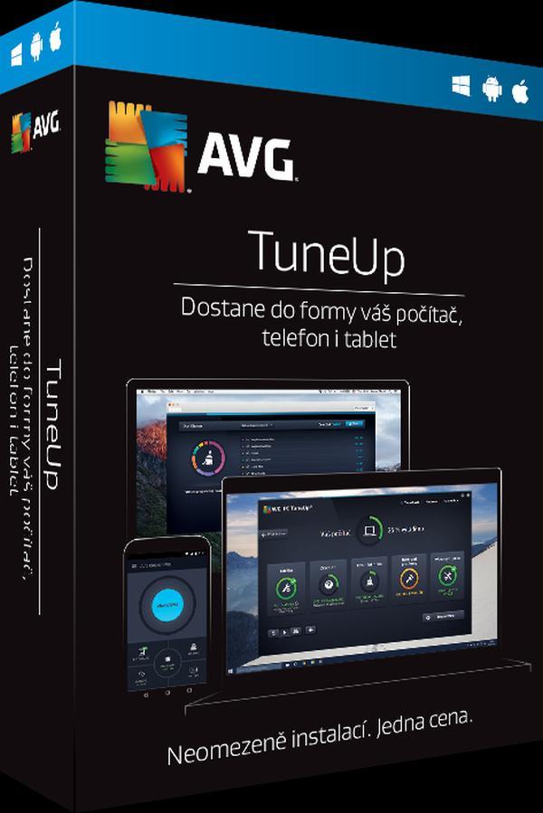 AVG TuneUp - Unlimited - předplatné na 2 roky - elektronicky