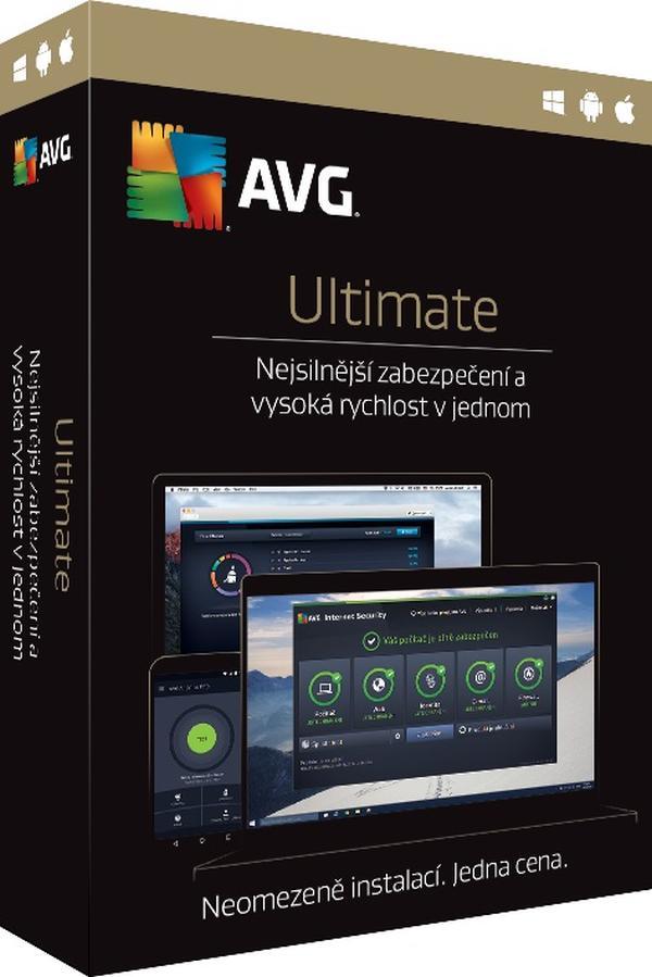 AVG Ultimate - předplatné na 2 roky - elektronicky