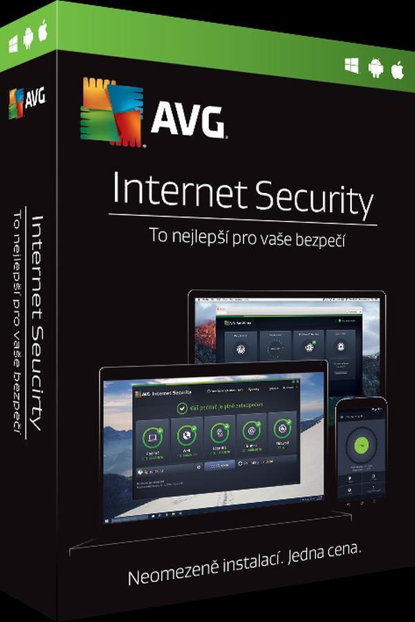 AVG Internet Security - Unlimited - předplatné na 2 roky - elektronicky