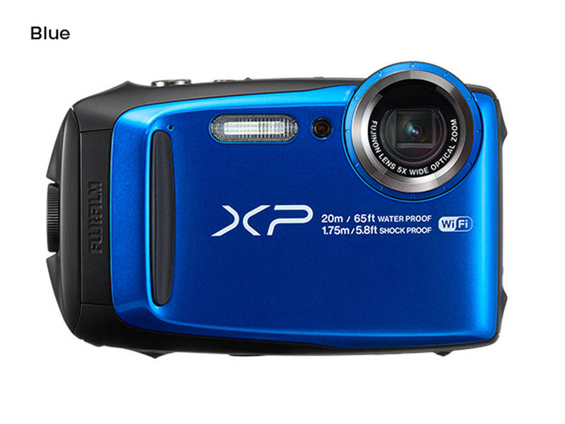Fujifilm FinePix XP120 - 16,4 MP, 5x zoom - Blue