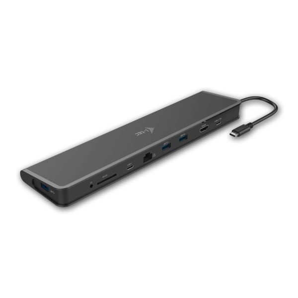 i-Tec USB-C 3,1 Docking Station Flat , HDMI, 3x USB, čtečka, Power delivery