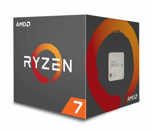 AMD cpu Ryzen 7 1800X Box AM4 (8core, 16x vlákno, 3.6GHz / 4.0GHz, 20MB cache, 9
