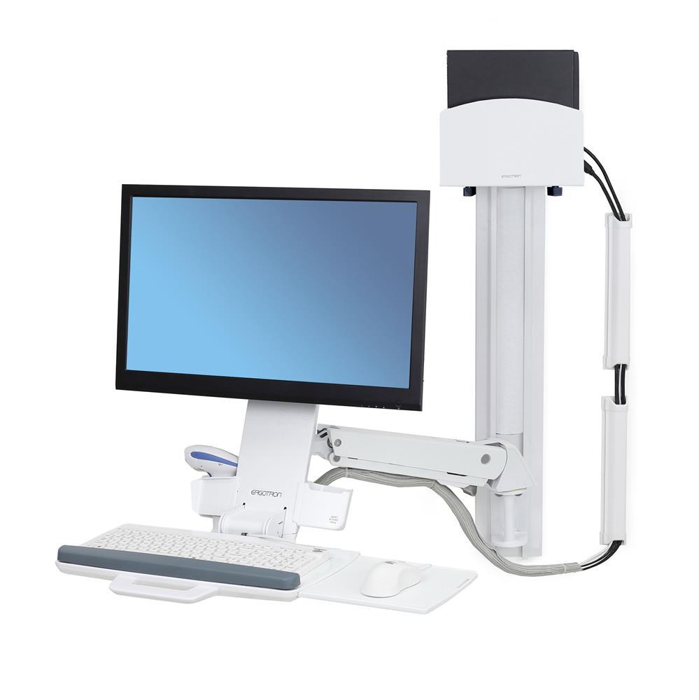 ERGOTRON StyleView® Sit-Stand Combo System, držák LCD, klávesnice+ myš,scanner,m