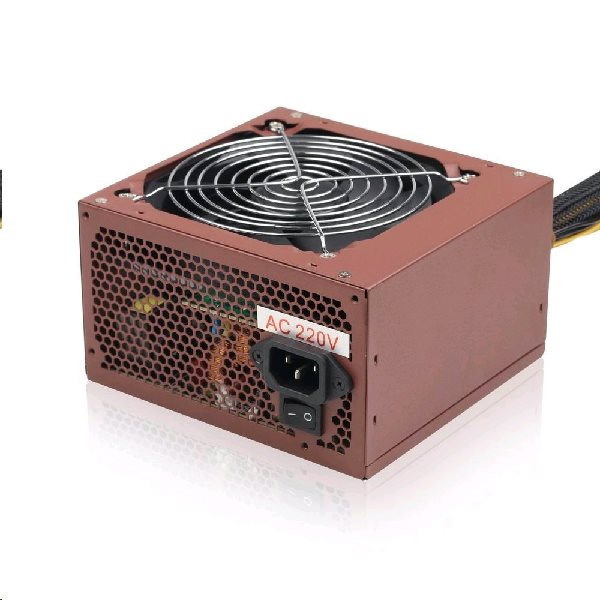 Zdroj GEMBIRD BRONZE 400W ATX/BTX, CE, aktivní PFC, 12 cm fan