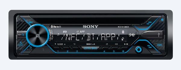 SONY MEX-N4200BT CD/mp3 přehrávač do automobilu s technologií NFC/Bluetooth®