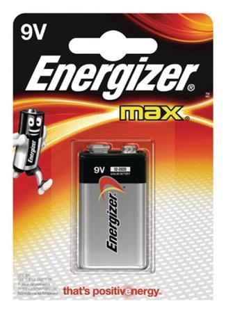 Energizer 9V - alkalická baterie Max, 1 ks