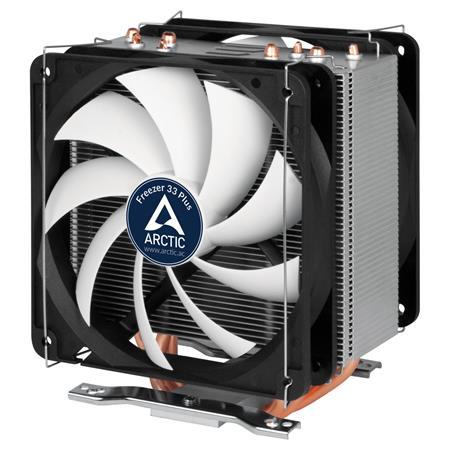 ARCTIC Freezer 33 PLUS, CPU Cooler for Intel Socket 2011(-v3)/1150/1151/1155/115
