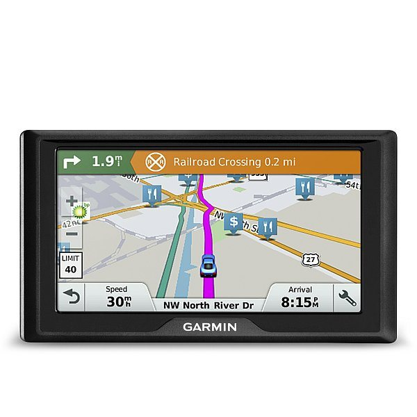 "Garmin Drive 61S Lifetime Europe 45 - 45 států,6"" LCD"
