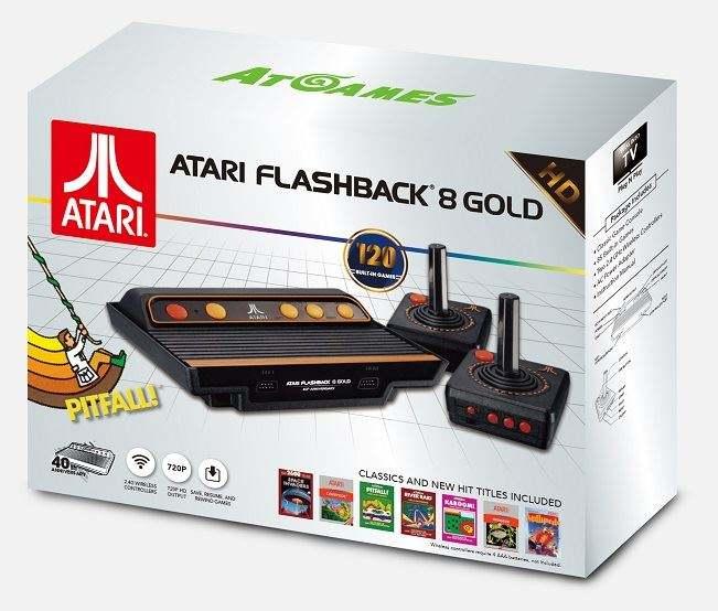 AtGames Atari Flashback 8 HD Gold