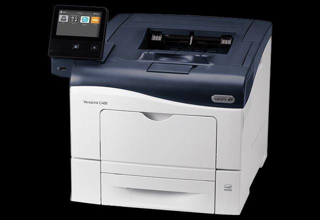 Xerox VersaLink C400, barevná tiskárna, A4, 36ppm, Duplex, USB, Ethernet, 2GB ra