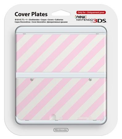 Nintendo New 3DS Cover Plate 14 (Pink Mix)