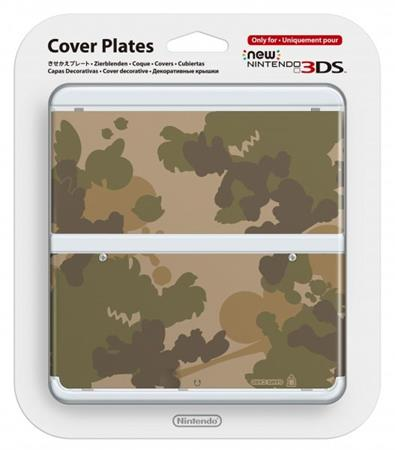 Nintendo New 3DS Cover Plate 17 (Camouflage)