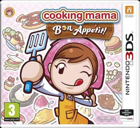 Nintendo 3DS Cooking Mama: Bon Appetit