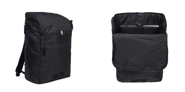 Crumpler Expandable Travel Backpack - black anthracite