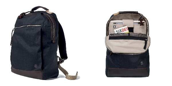 Crumpler Betty Blue Backpack - dk. denim/earth brown