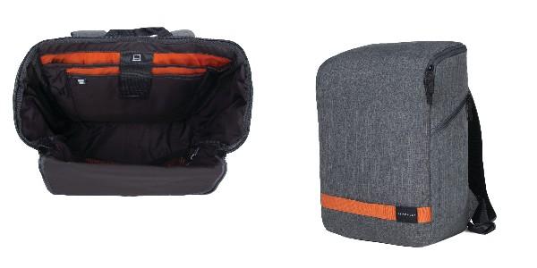 """Crumpler Shuttle Delight Cube Backpack 15"""" - white grey"""