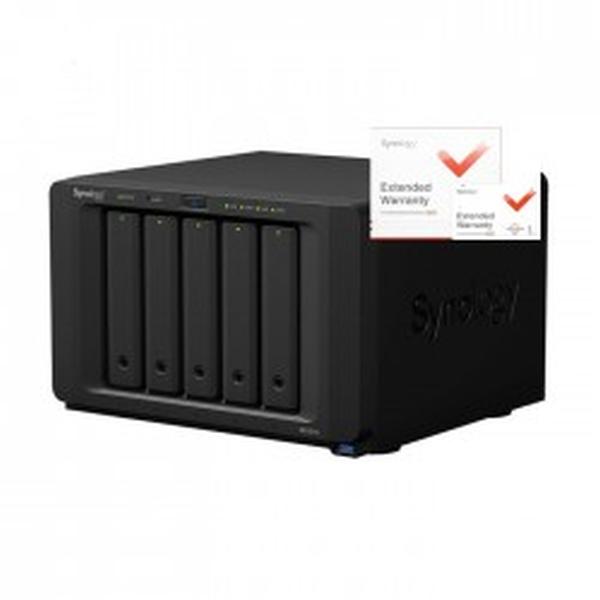 Synology DS1517+ DiskStation, 8GB RAID 5xSATA server, 4xGb LAN, rozšířená záruka