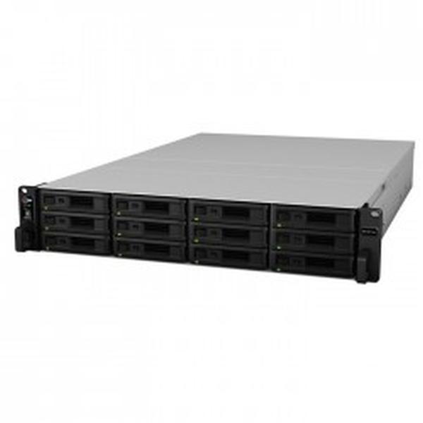 Synology RS18017xs+ RAID 12xSAS/SATA Rack server,2x10Gb+4x1Gb LAN, redund.zdroj