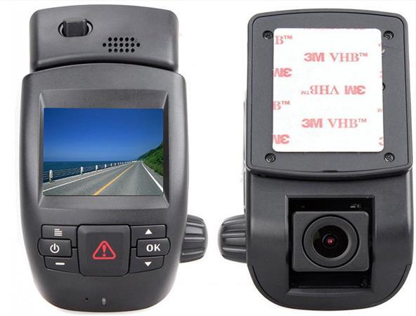 """CEL-TEC CD30X GPS - palubní kamera do auta 1296p, microSDXC, WDR, 2"""" LCD, černá"""