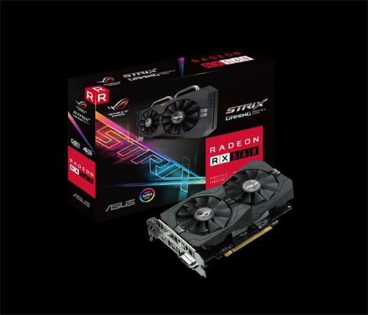 ASUS ROG-STRIX-RX560-4G-GAMING 4GB GDDR5 (128 bit) ,HDMI, DVI, DP