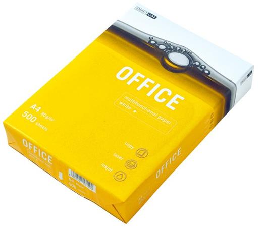 OFFICE PAPER A4, 80g/m2, 1x500listů
