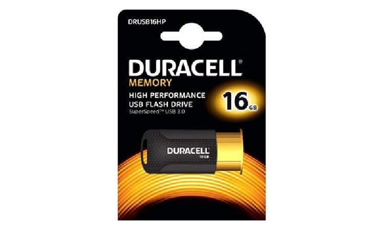 Duracell DRUSB16HP 16GB USB 3.0 Flash Memory Drive