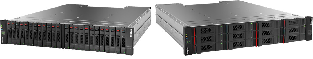 Lenovo ThinkSystem DS2200 LFF SAS Dual Controller Unit (US English documentation