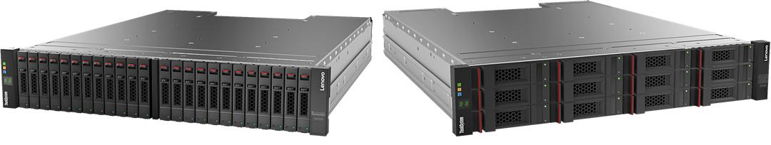 Lenovo ThinkSystem DS2200 SFF SAS Dual Controller Unit (US English documentation