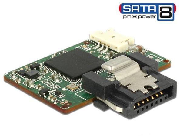 Delock SATA 6 Gb/s DOM Modul 16 GB MLC SATA Pin 8 power -40 °C ~ 85 °C