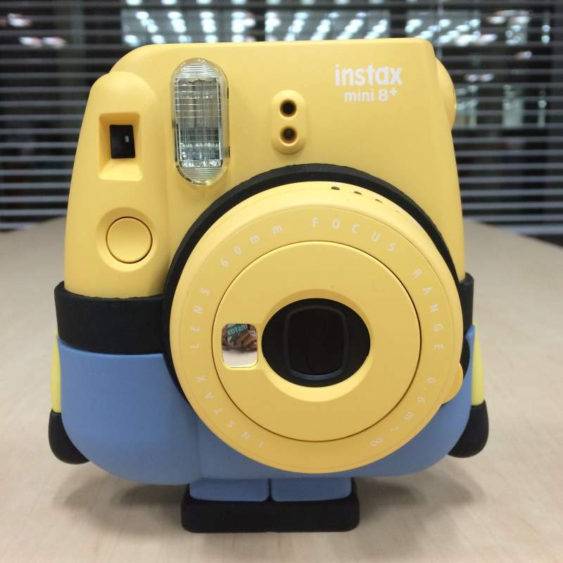 Fujifilm INSTAX MINI 8+ INSTANT CAMERA - Minion