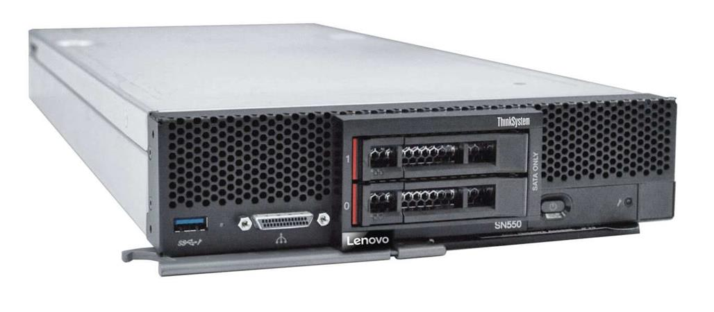 Lenovo ThinkSystem SN550 1x Silver 4110 8C 2.1GHz 85W/1x32GB/0GB 2x NVMe/SATA/RS