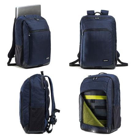 """Crumpler BackLoad Backpack 17"""" - dk. navy"""