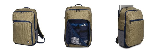 """Crumpler BackLoad Backpack 17"""" - khaki"""