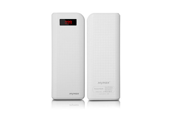 BAZAR_iMyMax Carbon Power Bank 20.000mAh, White
