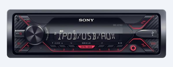 SONY DS-XA210UI Autorádio (1 DIN) bez optické mechaniky s širokými možnostmi pro