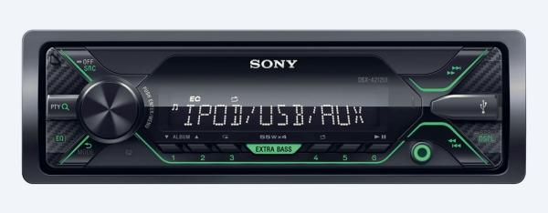 SONY DS-XA212UI Autorádio (1 DIN) bez optické mechaniky s širokými možnostmi pro