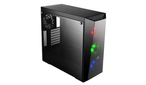 Cooler Master miditower MasterBox Lite 5 RGB, 3xRGB vent. ATX, 2x USB3.0, černý