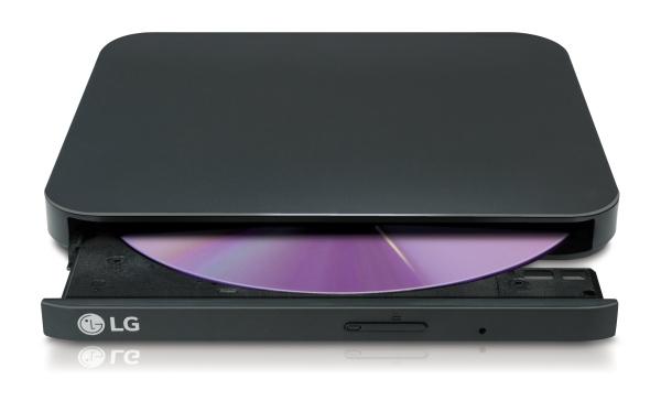 LG GP90EB70 Externí Slim DVD vypalovací mechanika  černá