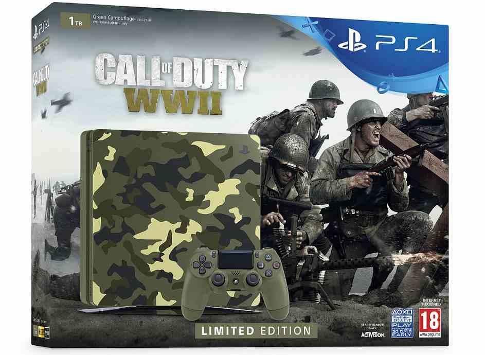 SONY PlayStation 4 Slim - 1TB + Call of Duty WW II + That's You
