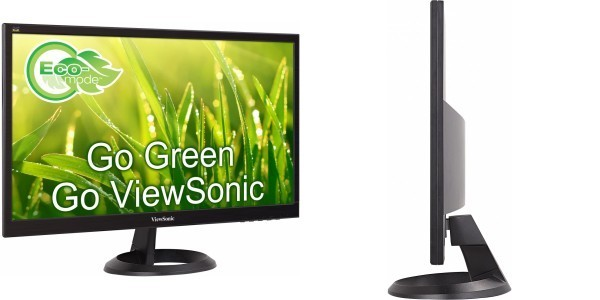 """Viewsonic VA2261H-8 22"""" FullHD 1920x1080/TN/16:9//5ms/200nits/VGA/HDMI/VESA"""