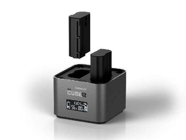 Hähnel proCUBE2 Nikon - profi nabíječka Li-ion baterií EN-EL14/EL14a/EL15