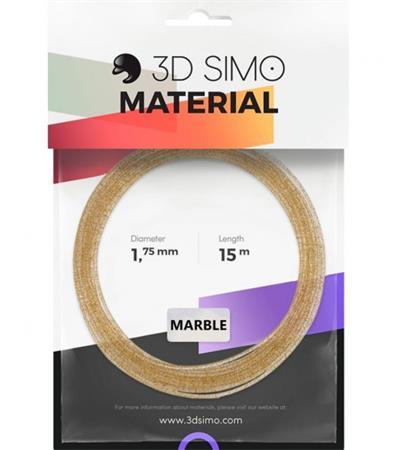 3DSimo Filament MARBLE - zlatá 15m