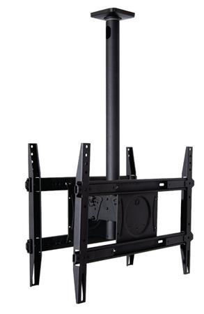 """Omnimount OMN-DCM250 - stropní TV držák pro 2 TV, naklápěcí 32 - 65 """", 113 kg"""