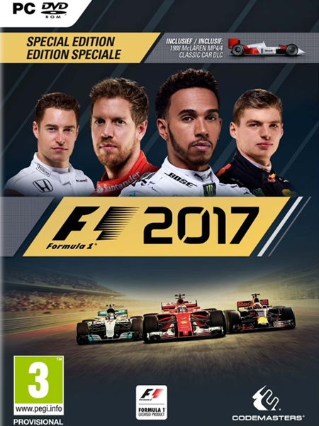 F1 Formula 1 2017 Special Edition PC