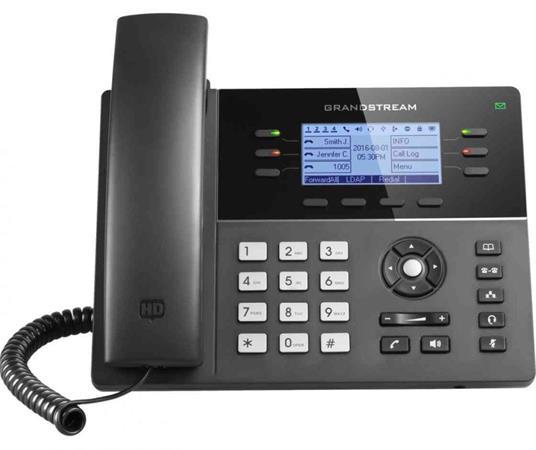 "Grandstream GXP1760w 3,3"" LCD podsv. displej, 3SIP účty, 6prog. tlačítek, 24digi"